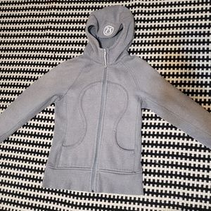 Lululemon Gray Sprinkled Jacket